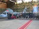 Кметът Иван Портних присъства на церемония по приемане на нов вертолет