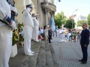 Почетоха с военен ритуал паметта на контраадмирал Иван Вариклечков