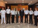Командири на учебни кораби от ВМС на Украйна посетиха Община Варна