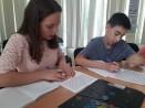 Ученици показват умения в проекта Кибермагьосници