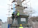 Реставрират Паметника на загиналите в Сръбско-българската война