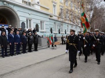 Кметът Иван Портних присъства на награждаване на ВВМУ
