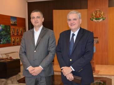 Кметът Иван Портних се срещна с посланика на Аржентина