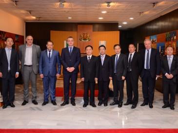 Китайска делегация се запозна с проектите на Варна