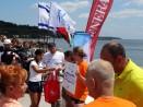 Холандци от побратимения град Дордрехт плуваха благотворително в два маратона