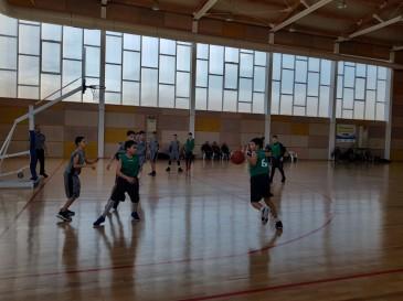 Състезанията по баскетбол от възрастова група 5-7 клас, част от ученическите игри 2017/2018г. във Варна