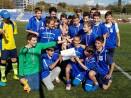 """Учениците на СУ """"Св. Климент Охридски"""" станаха шампиони по футбол"""