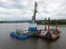 Прокопават траншеята по дъното на Варненското езеро