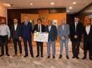 Кметът Иван Портних посрещна делегация от Асоциацията на европейските столици и градове на спорта