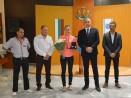 Кметът Иван Портних награди европейската шампионка по бокс Станимира Петрова