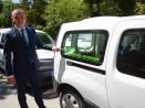 """18 електрически автомобила контролират паркирането в """"синята зона"""""""
