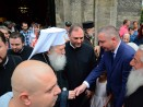 Патриарх Неофит във Варна: Нека говорим и мислим не за насилие, а за мир и любов