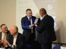 Награда на кмета за ДППИ по случай 20 години ръководство на корабен трафик в България