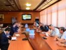 Кметът Иван Портних се срещна с представители на световна IT компания