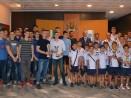 Кметът награди шампионите по баскетбол и водна топка