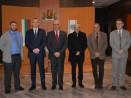 Кметът Иван Портних се срещна с експерти по контратероризъм от Румъния и Израел