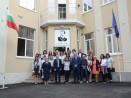 """Министър и кмет посетиха обновената ВТГ """"Г. С. Раковски"""""""