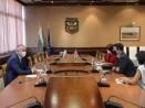 Кметът на Варна Иван Портних се срещна с посланика на Великобритания