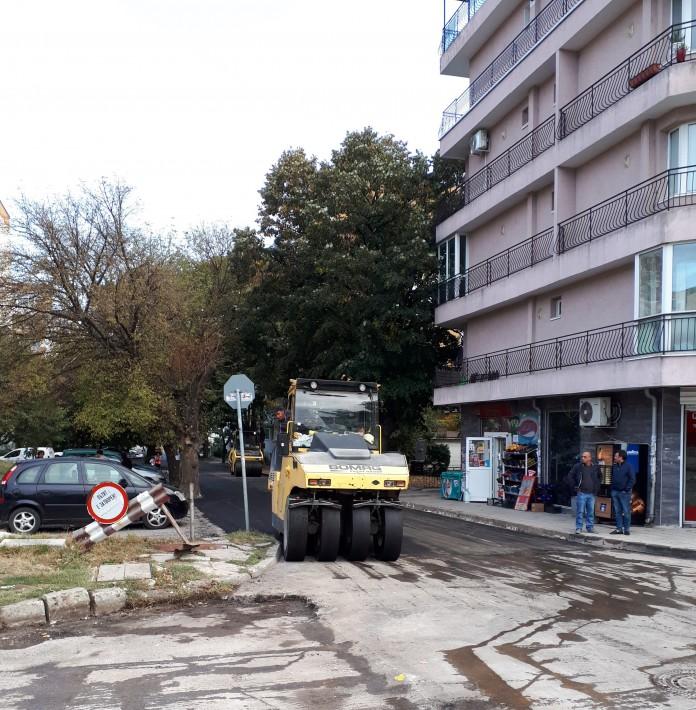 Prodlzhavat Remontite V Malkite Ulichki Vv Varna Novini